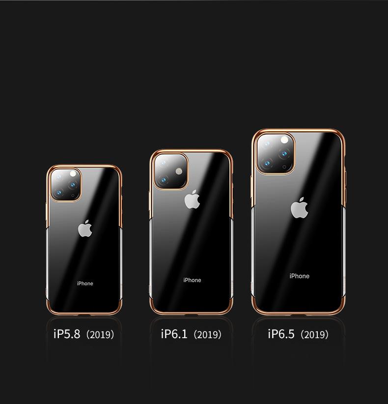 Maskica za Apple iPhone 11 Pro Max Devia Defender Clear